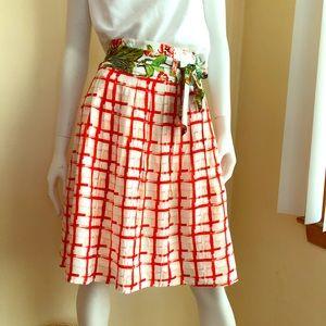 Anthropologie Maeve county fair skirt